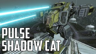 MWO: F2P - Trial By Fire: Large Pulse Shadow Cat