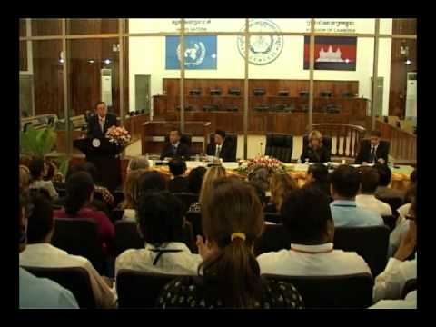 UN Secretary General Ban Ki-moon's Speech at ECCC  Part II