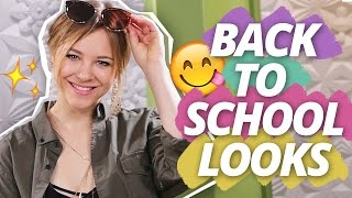 4 tolle BACK TO SCHOOL OUTFITS l PNGN w/Diana zur Löwen