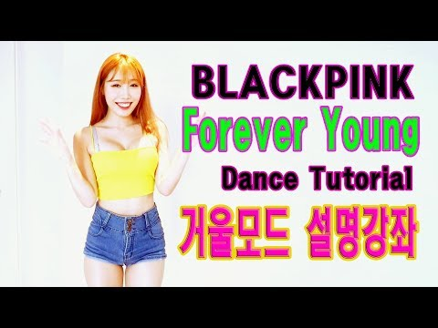 Tutorial Mirrored (BLACKPINK) 블랙핑크 Forever Young 거울모드 설명강좌 WAVEYA