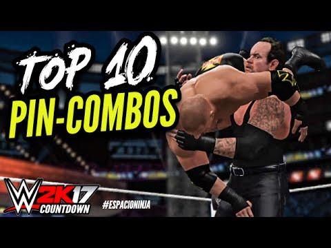 WWE 2K16 TOP 10 Pin Combos! | WWE 2K17 Countdown