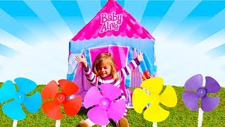 THE FINGER FAMILY SONG, NURSERY RHYMES & SONGS FOR CHILDREN LEARN COLORS APRENDENDO CORES BY HELENA