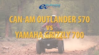 Обзор BRP Can-Am Outlander 570 vs Yamaha Grizzly 700