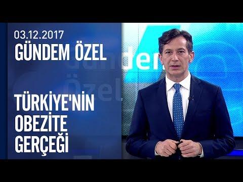 Türkiye'nin obezite gerçeği - Gündem Özel 03.12.2017 Pazar