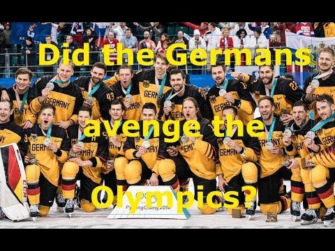 Немцы отомстили за олимпиаду?