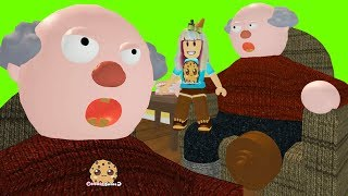 My Grandpa ! Roblox Obby  Let's Play Video Games with Cookie Swirl C