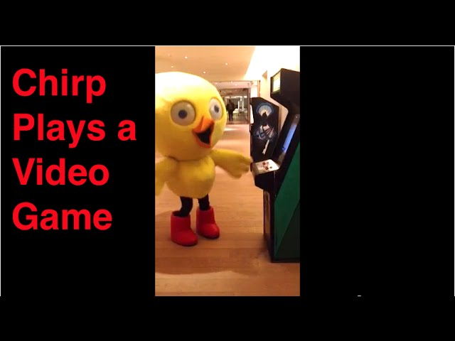 Chirp playing video games