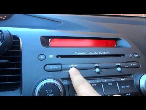 How To Adjust The Clock In A 2009 Honda Civic