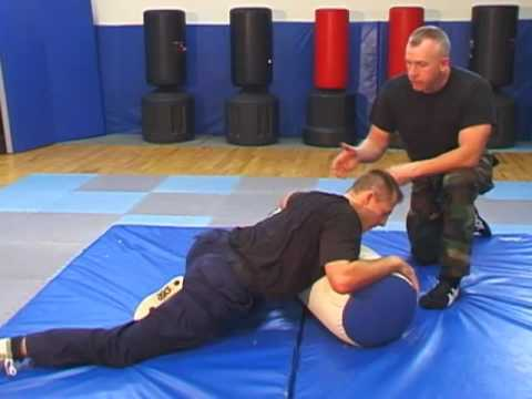 Heavy Bag Training for Groundfighting Image 1