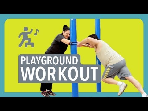 Easy Playground Workout - Being Fat Sucks video