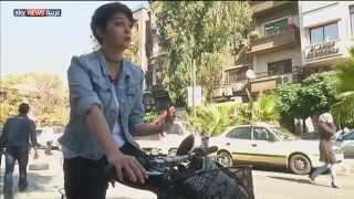 دمشق.. الدراجات الهوائية حلا للزحام