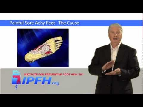 Painful Sore Feet - The Cause