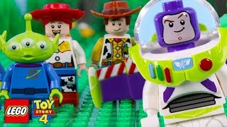 LEGO Toy Story 4 STOP MOTION LEGO Toy Story Buzz Falling With Style | LEGO Toy Story || Billy Bricks