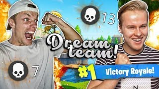 HET DREAMTEAM IS NIET TE STOPPEN!! - Fortnite Battle Royale ft. EnzoKnol (Nederlands)