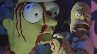TRENDING FUN: THE SIMPSONS COUCH GAG - LA MASACRE | ZellenDust