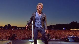 Bon Jovi Livin 39 On A Prayer Hyde Park 2011