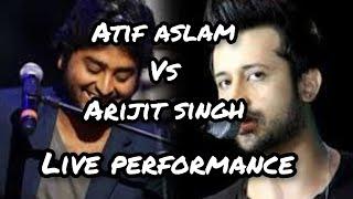 atif aslam vs arijit singh live performance 2016 gima award 2016