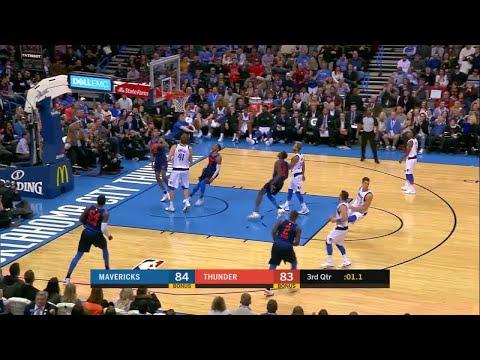 3rd Quarter, One Box Video: Oklahoma City Thunder vs. Dallas Mavericks