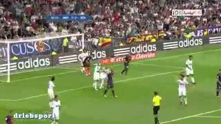 Real Madrid Vs Barcelona 2-1 All Goals And Highlights Super Cup 29/8/2012(HD)