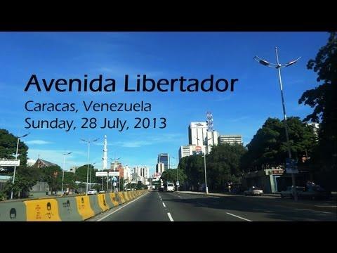 Avenida Libertador, Caracas