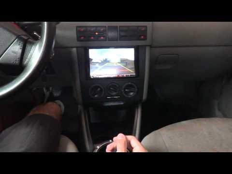 Camera de Ré + DVD 2 Din Philco no VW Gol G3