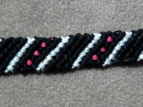 Friendship bracelet tutorial beginner