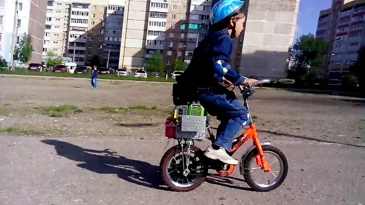 Мопед из велосипеда своими руками