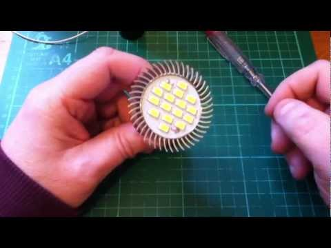 Dangerous GU10 LED Spot Light is Cheap and Bright but could Kill You - Seriously