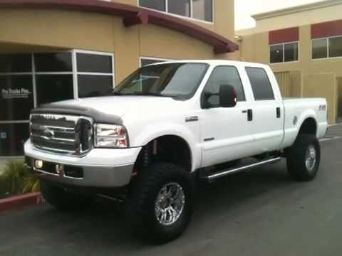 2006 FORD F250 SUPERDUTY 6.0L POWERSTROKE TURBO -DIESEL 4X4 CREW CAB