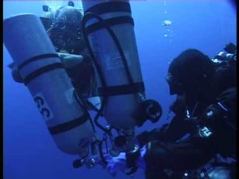 201 meters in  Blue Hole. Dahab. My 2d dive on 200+