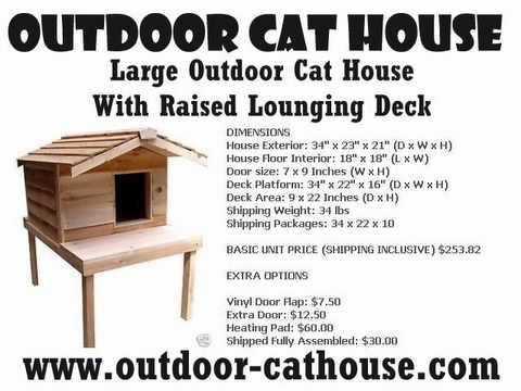 How To Build A Wooden Outdoor Cat House