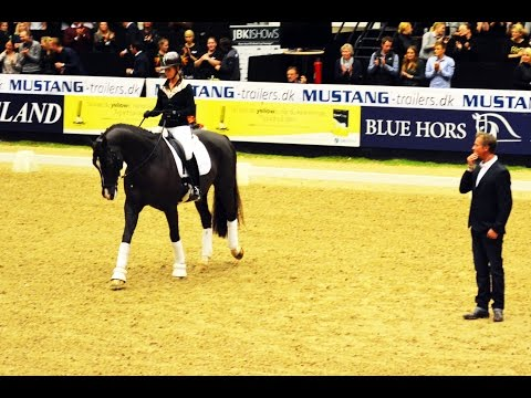 Charlotte Dujardin - Carl Hester - Valegro - Clinic JBK Horse Shows 2014