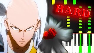 ONE PUNCH MAN - OPENING SONG - Piano Tutorial