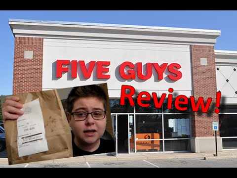 ► Five Guys Burgers and Fries Review!