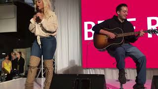 "Download Lagu Bebe Rexha - ""Meant To Be"" FULL Live at Paramatta Westfield Sydney, Australia Gratis STAFABAND"