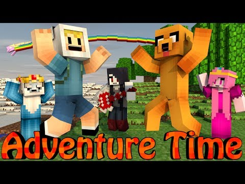 Minecraft Mods | MORPH HIDE AND SEEK - ADVENTURE TIME MOD!
