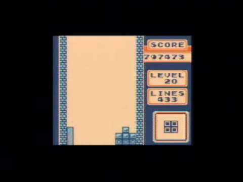 Game Boy Tetris - 999,999 points