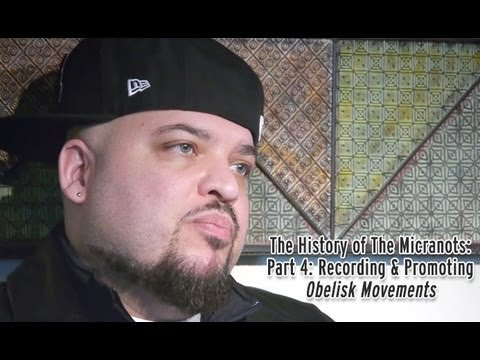 The History of The Micranots Part 4: Recording and Promoting Obelisk Movements