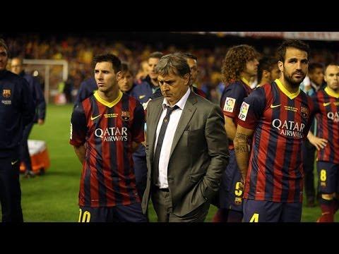 "Gerardo Martino: ""Estamos obligados a seguir luchando por la Liga"""