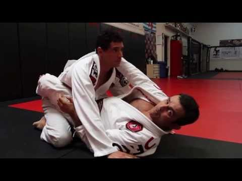 Jiu Jitsu Techniques - Armbar / Lapel Choke From Closed Guard Image 1