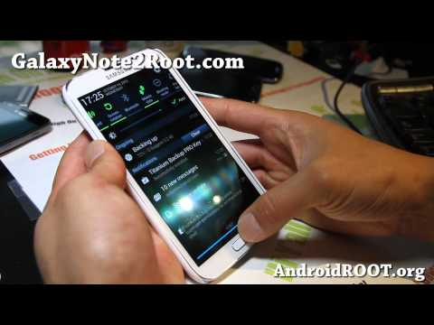 How to Backup Apps on Rooted Galaxy Note 2!