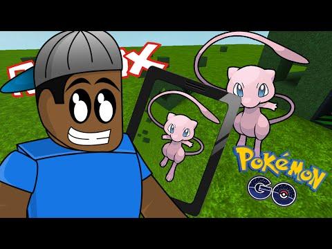 Roblox / CATCHING MEW! - Pokemon Go / Roblox Adventures DanTDM