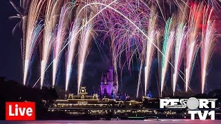 🔴Live: Happily Ever After Fireworks Cruise at Magic Kingdom 1080p - 10-12-19