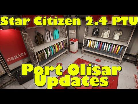 Port Olisar Upadates | Star Citizen 2.4 PTU