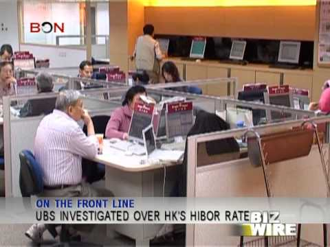 UBS investigated over HK's Hibor rate - Biz Wire - December 24 - BONTV