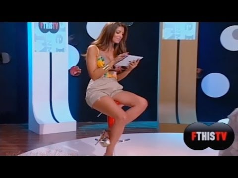 Stamatina Tsimtsili Beautiful Greek Tv Presenter 05.09.2012