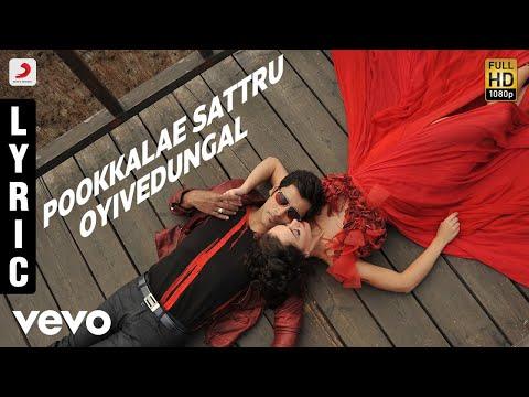 I - Pookkalae Sattru Oyivedungal Lyric | A.r. Rahman | Vikram | Shankar video