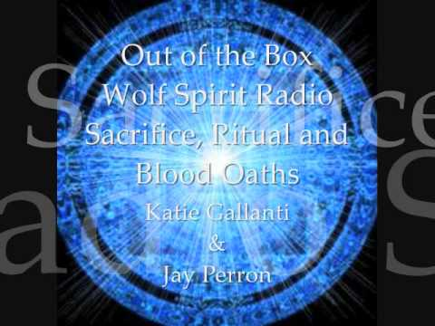 Katie and JayPee -  Philip S Hoffman; the 4 types of Blood Sacrifice; Ritual and Blood Oaths