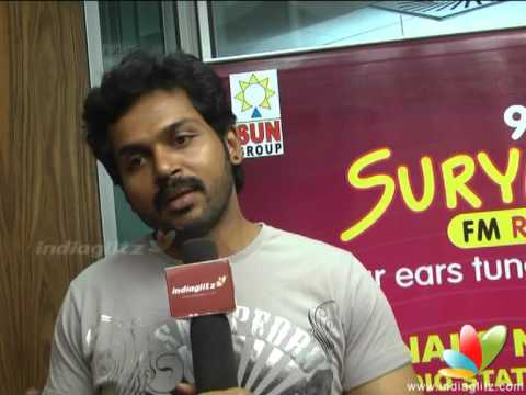 Karthi On His 'Saguni' Journey