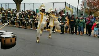 NSU tunnel after A&T game.